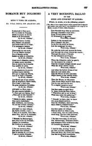 Byron: A Very Mournful Ballad (Mór király)