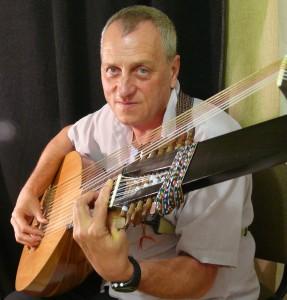 Domján Gábor - Lantdalok. Lant, gitár, vihuela