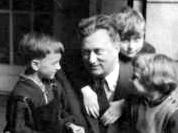 Domjan-Jenő,Édesapam, én: Gábor, Feri bátyám, Laci öcsém, 1957