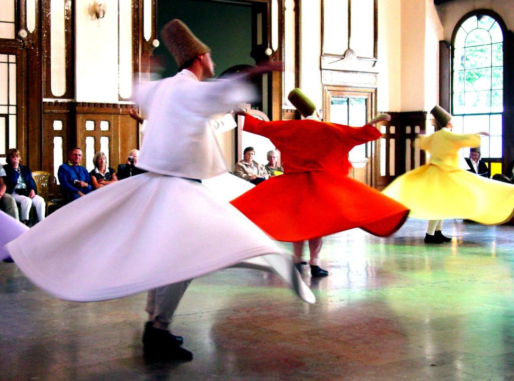 szufi táncosok